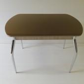 8710 руб.  Стол маленький со стеклом глянцевый. Размеры: 1050+(320) - 700