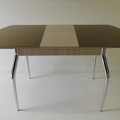 9360 руб. Стол большой со стеклом глянцевый 1200 + (320) - 780